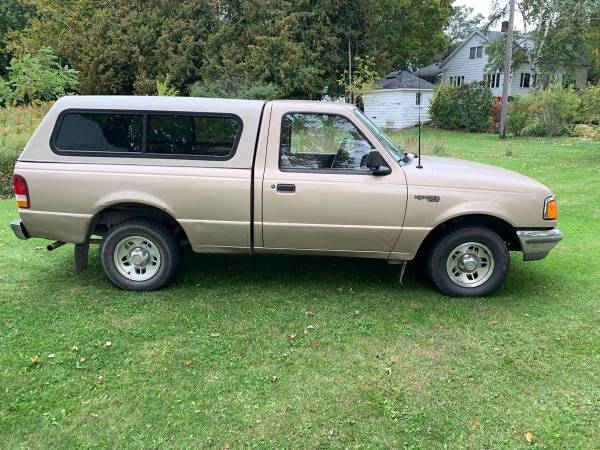 Photo 1996 Ford Ranger,Low Miles,Great on gas - $3000 (Caseville)