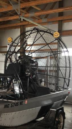 Photo Air Boat for sale - $10000 (Bay Port)