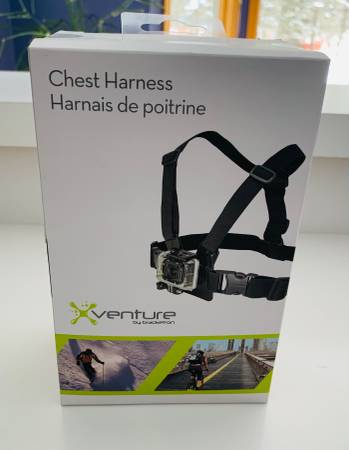 Photo Go Pro Chest Harness New in Box - $12 (Novi)