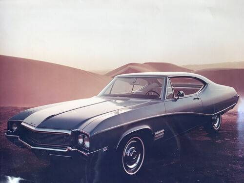 Photo ORIGINAL 18 x 24 1972 PHOTOGRAPH BUICK SKYLARK ADVERTISING BROCHURE ad - $15 (Royal Oak)