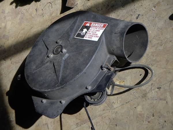Photo Simplicity Lawn Bagger Blower and Misc. Parts (Harbor Beach)