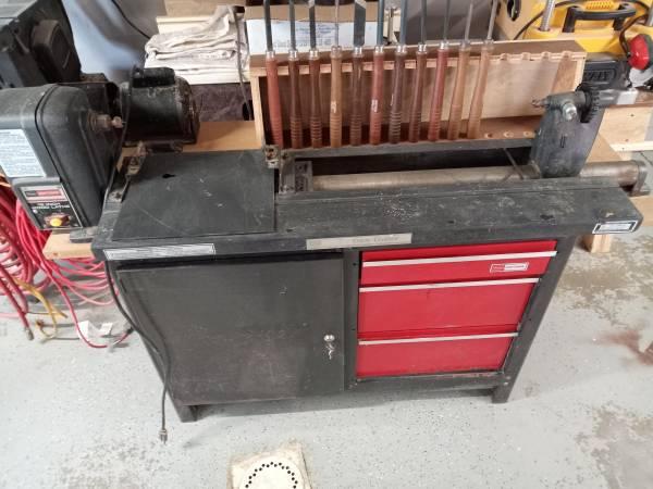 Photo Wood Lathe, Duplicator, Tools - $175 (Bad Axe)
