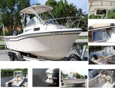 Photo adventrue208 boat walk around gradywhite - $14,522 (flint)