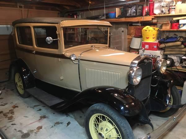Photo 1930 ford model A tudor - $12,500 (monticello)