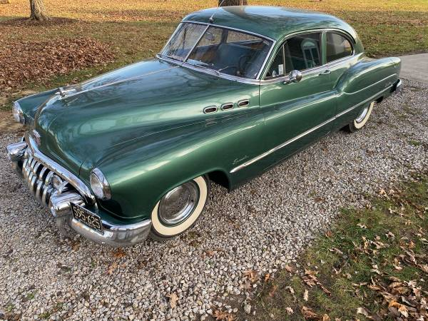 Photo 1950 Buick special sedanette coupe fireball straight 8 - $18900 (Lafayette)
