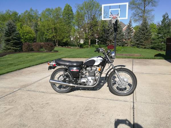 Photo 1971 Triumph T150 Trident 750cc motorcycle - $9,900 (Carmel, IN)