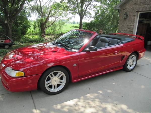 Photo 1995 Mustang GT - $6,500 (Lafayette)