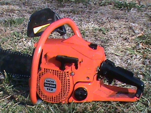 Photo Chainsaw Sachs Dolmar 112. Nice. - $135