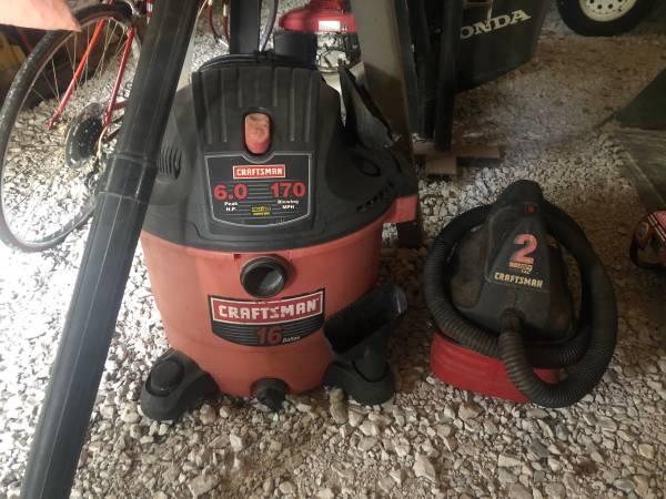 Photo Craftsman Shop Vac Wet Dry Vacuum - $25 (Flora)