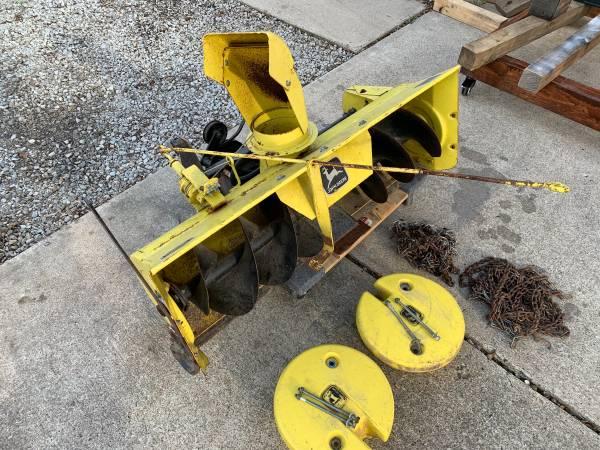 Photo John Deere Snowblower Package Deal - $450 (West Lafayette)