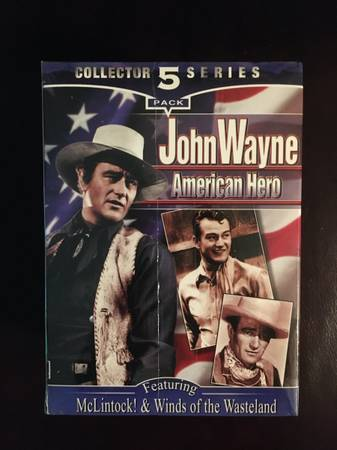 Photo John Wayne American Hero VHS - $15 (Brownsburg, IN)