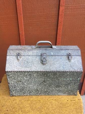 Photo Large, Hip Roof, Steel Tool Box - Nice - $25 (S. Lafayette)