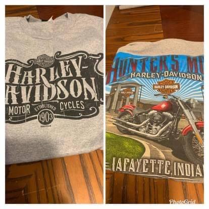Photo Mens Harley shirts - $8 (Wolcott)