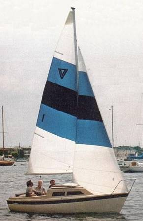 Photo Sailboat with cabin (Hobie Holder 17) - $2,500 (North West Indianapolis)