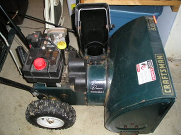 Photo Two Stage Snow Blower Thrower - $140 (Lafayette)