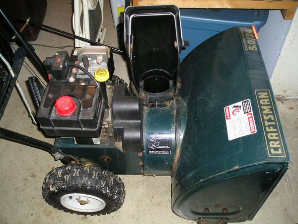 Photo Two Stage Snow Blower Thrower - $150 (tippicanoe)