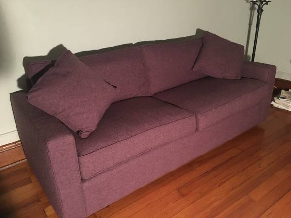 Photo Two seat purple couch - $250 (Lafayette)