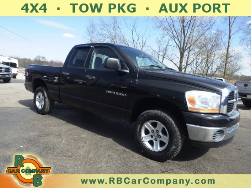 Photo Used 2006 Dodge Ram 1500 Truck 4x4 Quad Cab for sale