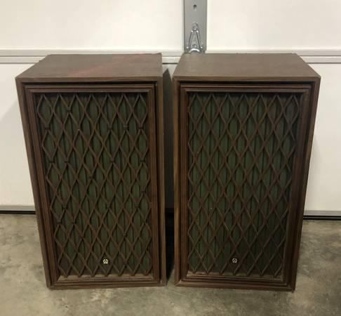 Photo Vintage Pioneer Stereo Speakers - $80 (Lafayette)