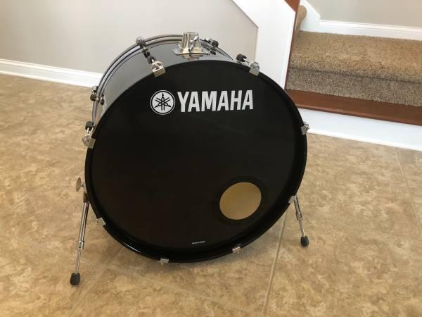 Photo Yamaha Stage Custom 24 Bass Drum Advantage Nouveau - $120 (Fishers)