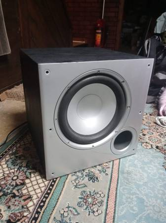 Photo polk audio 10quot powered subwoofer - $90 (Lafayette)