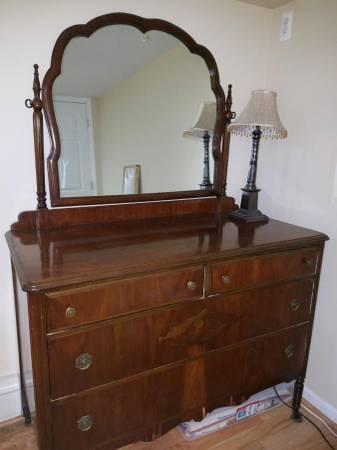 1920 s antique bedroom set bed