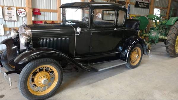 Photo 1930 Ford Model A coupe original - $15,000 (Melmore)