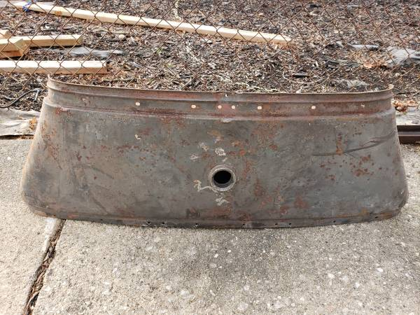 Photo 1930-early 1931 Ford Model A gas fuel tank - $150