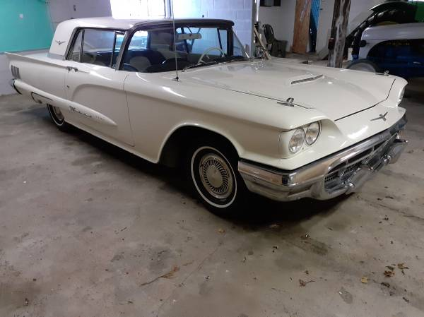 Photo 1960 Ford Thunderbird - $10,750 (Montpelier)