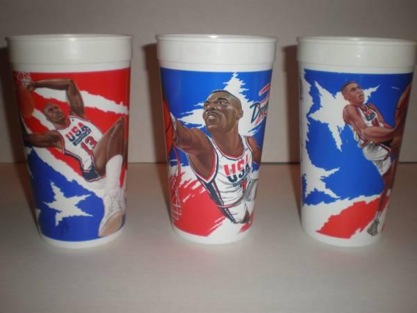 Photo 1994 McDonalds Dream Team II Basketball Cups - $10