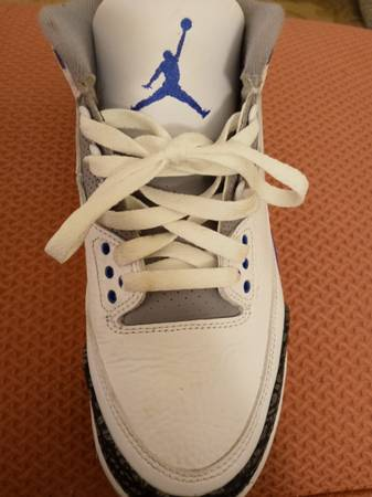 Photo 1 left Michael Jordan basketball shoe - $45 (Toledo)