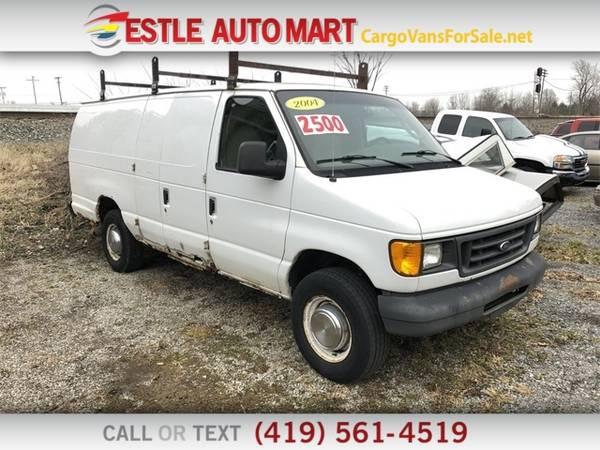 Photo 2004 Ford Econoline Cargo Van E350 Ext Van - $6995 (_Ford_ _Econoline Cargo Van_ _Van_)