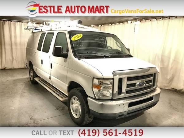 Photo 2010 Ford Econoline Cargo Van E250 Van - $11995 (_Ford_ _Econoline Cargo Van_ _Van_)