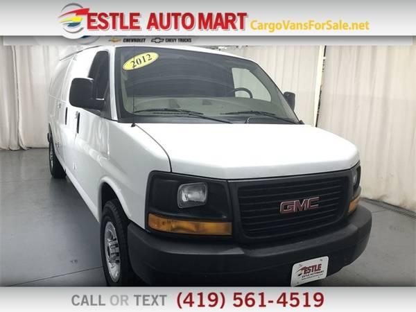 Photo 2012 GMC Savana Cargo Van 2500 Ext Van - $10995 (_GMC_ _Savana Cargo Van_ _Van_)