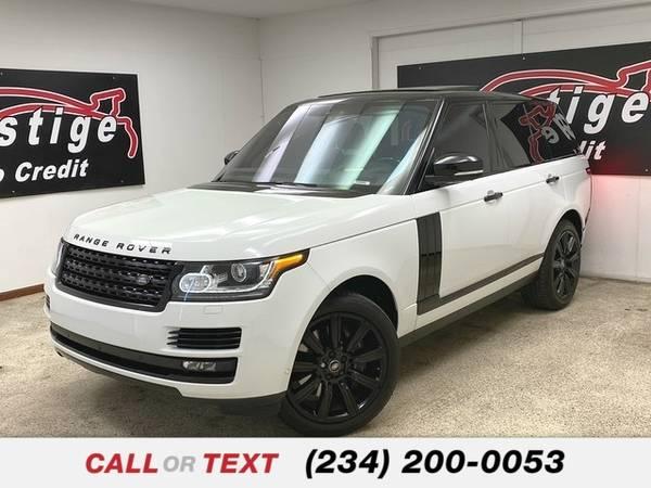 Photo 2017 Land Rover Range Rover - $67,852 (Toledo)