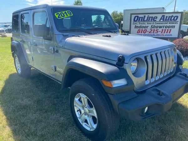 Photo 2019 Jeep Wrangler Unlimited Sport 1 OWNER - $31,800 (SWARTZ CREEK,MI)