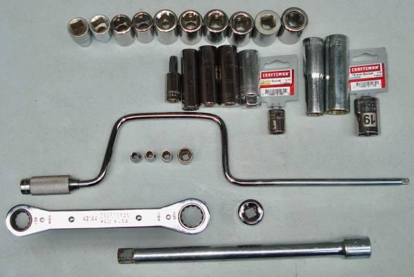 Photo 27 Pc. Craftsman Sears Sockets and Mechanics Hand Tool Selection - $27 (N. W. OhiO)