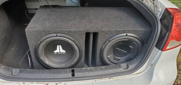 Photo 2 12in subs and JL audio  - $200 (Point Place)