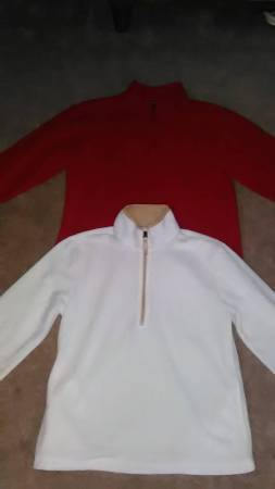 Photo (2) Girls Fleece Long Sleeve Tops Size L Chion  Old Navy - $6 (43612)