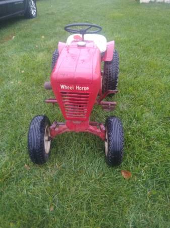 Photo 2 antique wheel horse tractors with extras - $300 (Swanton, Ohio)