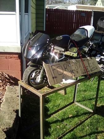 Photo 32cc 2 stroke gas powered kids pocket mini bike - $350 (Toledo)