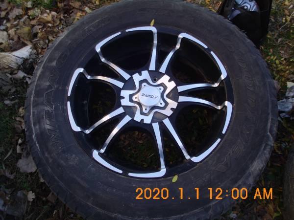 Photo 4 F 150 forte wheels tires 18in 5 lug - $300 (Carleton)