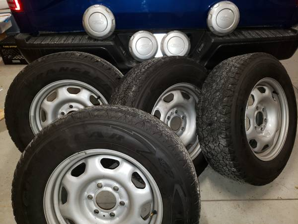 Photo 4 Rims and Tires (wheels) from a 2017 Ford F150 - $200 (43614)