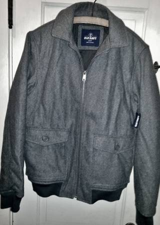Photo BRAND NEW Mens39 Wool Jacket - Old Navy size small - $25 (Perrysburg  Bowling Green area)