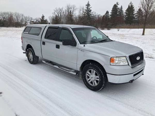 Photo Beautiful 2006 Ford F150 Super-Crew Cab (4WD) with 135k miles - $7400 (Plymouth, MI)