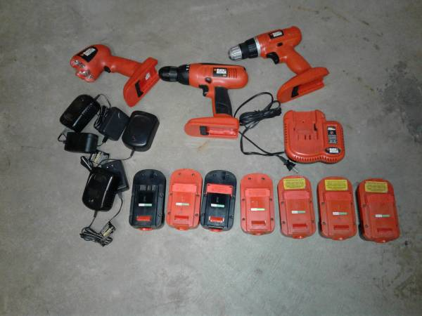 Photo Black and Decker 18V Cordless Tool Lot - $100 (Holland, OH)