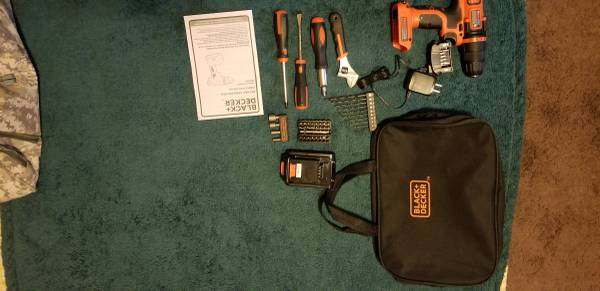 Photo Black and Decker 20V Drill and assorted tools - $70 (Bowling Green)