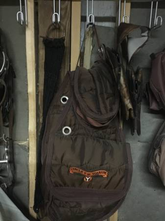 Photo Circle Y saddle bags - $25 (Pemberville oh)