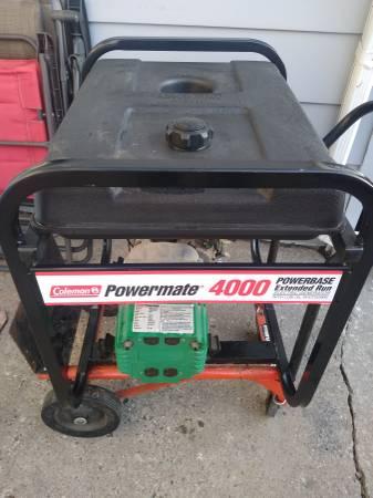Photo Coleman Powermate 4000 Watt Generator - $195 (Manitou Beach)