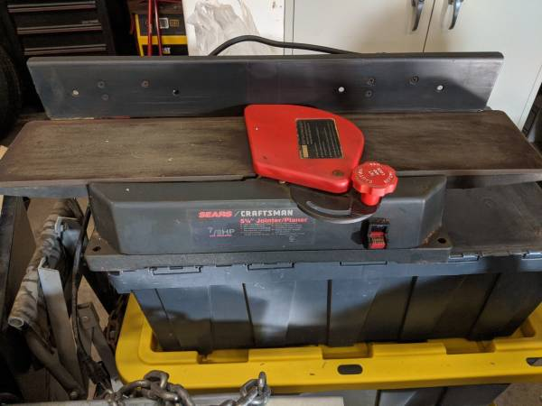 Photo Craftsman 5 18quot Jointer Planer - $75 (Fremont)